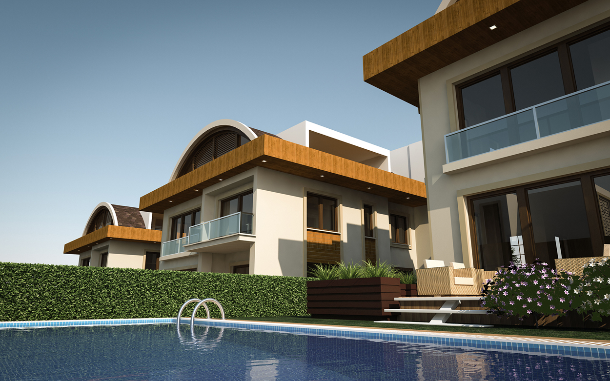Concept Bademli Villas Project