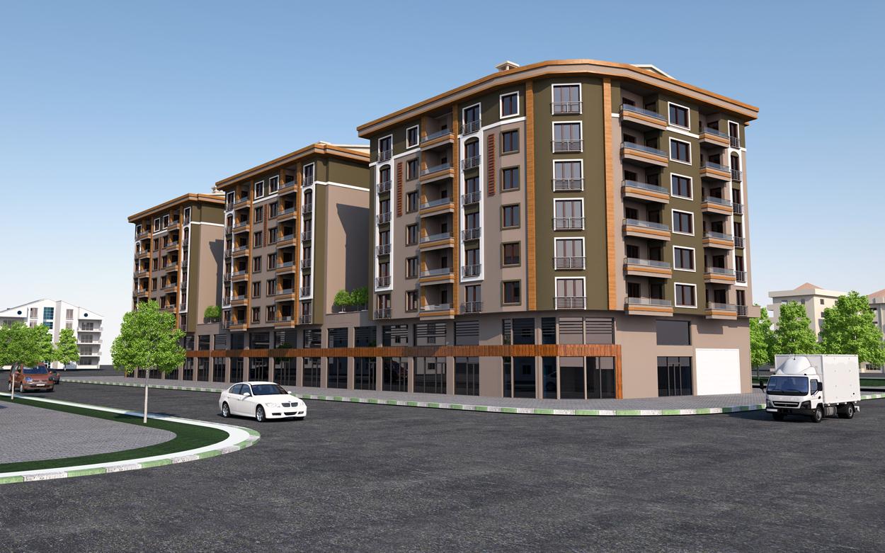 Golbasi Housing Exterior Project
