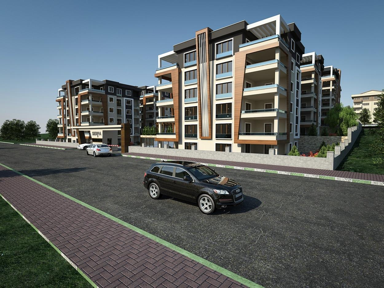 Serpa Akcalar Housing Project